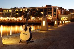 Steel String OM Cutaway Wedged Acoustic Guitar