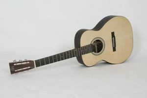 custom left handed acoustic guitar 14 fret