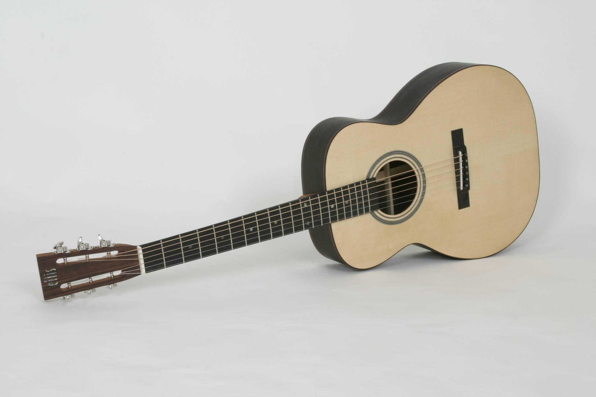 custom left handed acoustic guitar 14 fret