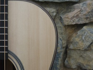 custom made left handed acoustic guitars